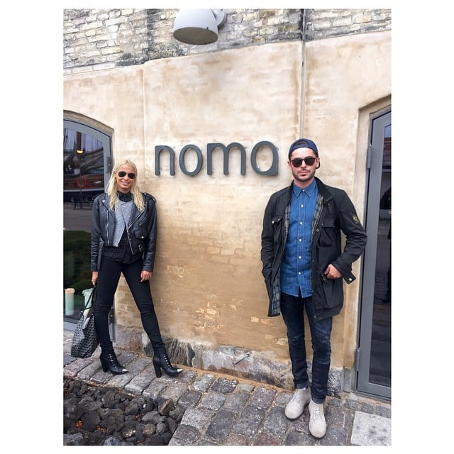 Sami's first Instagram post with Zac was back in October 2014. They dined together at Noma in Copenhagen, Denmark!
