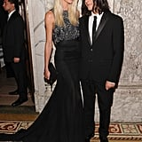 Candice Swanepoel and Olivier Theyskens
