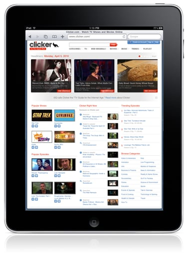 Find Videos That Play on the iPad With Clicker