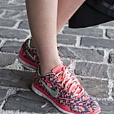 Well, if you're going to wear Nikes to Fashion Week, they'd better look like this.