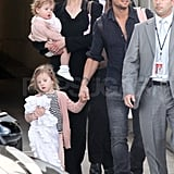 Nicole Kidman and Keith Urban Travel Down Under With Their Girls