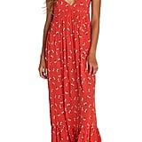 Billabong Flamed Out Print Maxi Dress