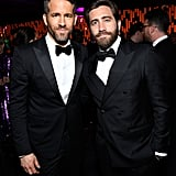 Ryan Reynolds and Jake Gyllenhaal blessed us with this handsome photo in 2017.