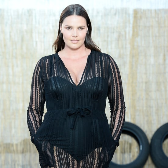 Plus-Size Model Candice Huffine Just Made Her NYFW Debut