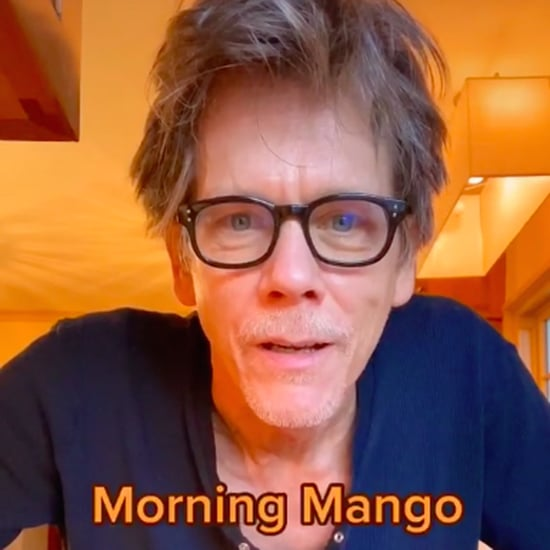 "Watch Kevin Bacon's Soothing ""Morning Mango"" Tutorial"