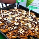 Caramel Pretzel Dessert Nachos