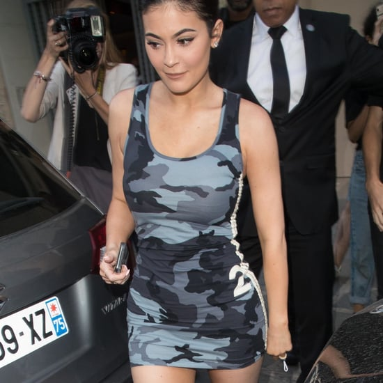 Kylie Jenner's Camouflage Dress at Lollapalooza 2018