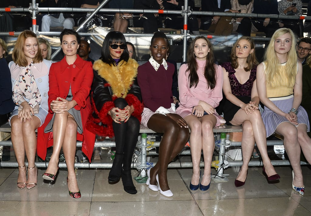 Paris Knows How to Pack a Front Row