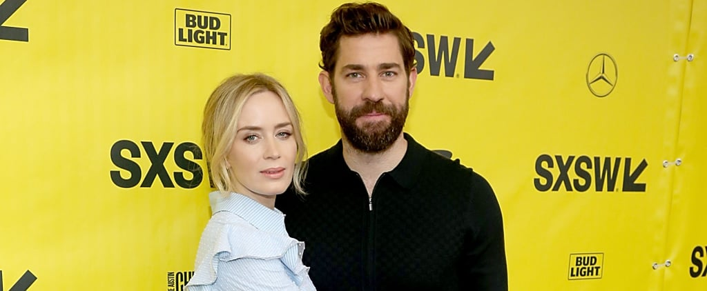 John Krasinski and Emily Blunt Can't Keep Their Hands Off Each Other at SXSW