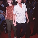 Anne Heche and Ellen DeGeneres in 1997