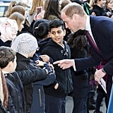 When William Chatted With the Cute Crowd