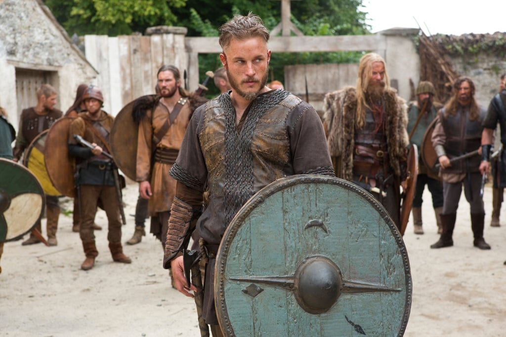 Fimmel is intimidatingly sexy as Ragnar in Vikings.