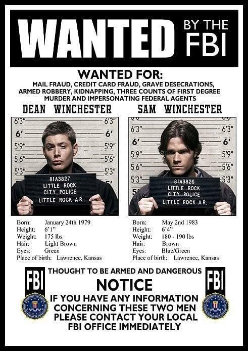 FBI Wanted Poster ($13)