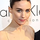 Rooney Mara was named the new face of Calvin Klein fragrance at the Cannes party, where she wore a rosy lip hue and soft smoky eyes.