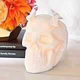 Pre-Lit Butterfly Skull