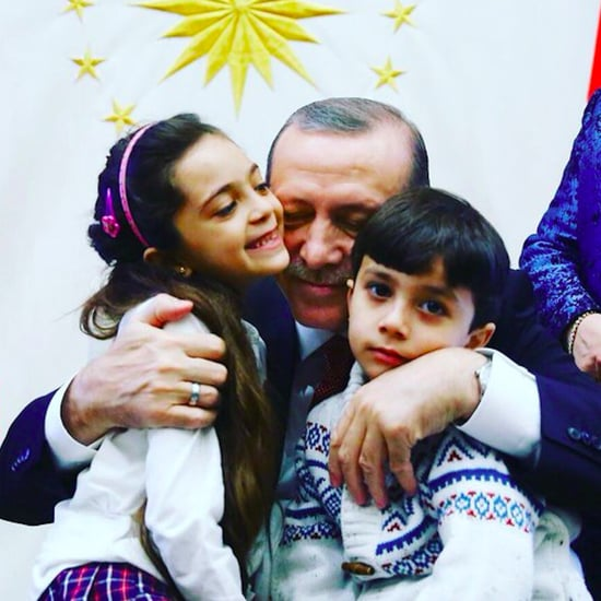 Syrian Girl Bana Meets Turkish President