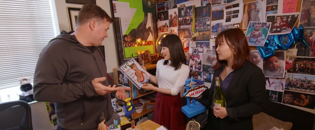Marie Kondo Visits The Ellen DeGeneres Office Video