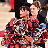 Rihanna's Makeup at the 2017 Met Gala
