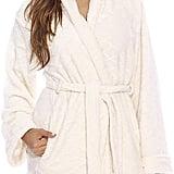 Just Love Kimono Velour Scalloped Texture Robe