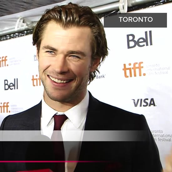 "Chris Hemsworth Explains Why Prepping For Rush Was a ""Boring"" Process at the Film's Premiere"