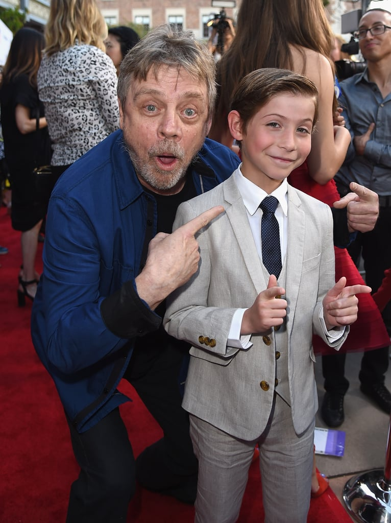 "Jacob Tremblay certainly hasn't been shy about professing his love for Star Wars, so imagine his excitement when he came face to face with the one and only Luke Skywalker. During the Los Angeles Film Festival on Wednesday night, the 10-year-old actor had an adorable moment with Mark Hamill at the premiere of his upcoming movie, The Book of Henry. While he tried to look cool and collected for the cameras, he later gushed about the encounter on Twitter, writing, ""Geeked out, big time, don't even care! Thank you @HamillHimself for chatting with me! #Woah!"" And it seems like Mark is just as big of a fan. After he praised the actor's performance on social media, Jacob appropriately responded by letting everyone know he will be going by Jedi Jake from now on."