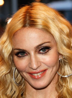 Madonna's Makeup at RocknRolla Premiere