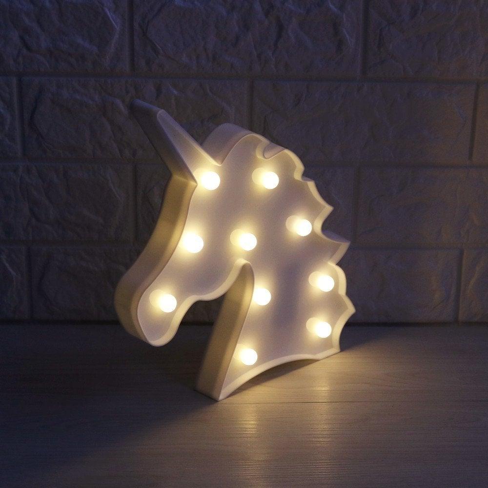 Delicore Unicorn Marquee Light