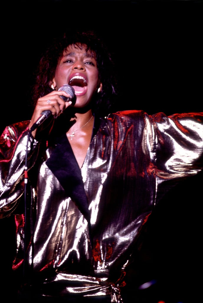 Whitney exercised her voice in 1985 in Chicago.