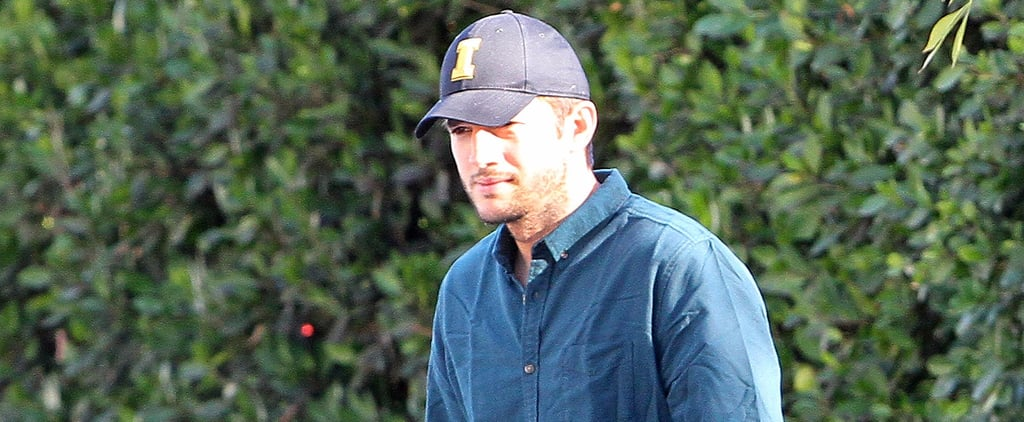 Ashton Kutcher Runs Errands in LA After Becoming a Father of 2