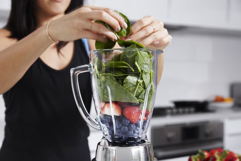 A mix of spinach, avocado and grapes, this antioxidant rich smoothie not only tastes good, but will work miracles on your skin.