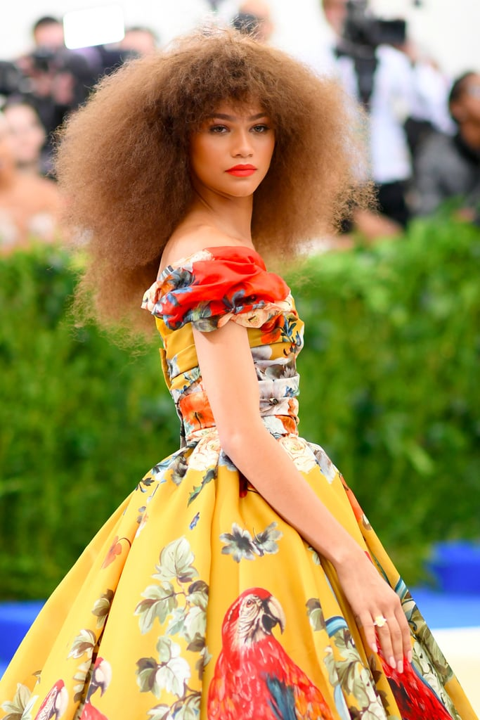 Zendaya Hair Makeup at the Met Gala 2017