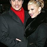 Nick Lachey and Jessica Simpson, 2004
