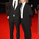 Will Poulter and Dexter Fletcher