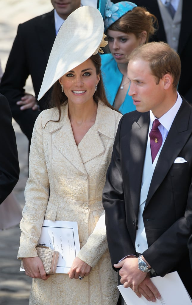 Will and Kate enjoy themselves at the wedding.
