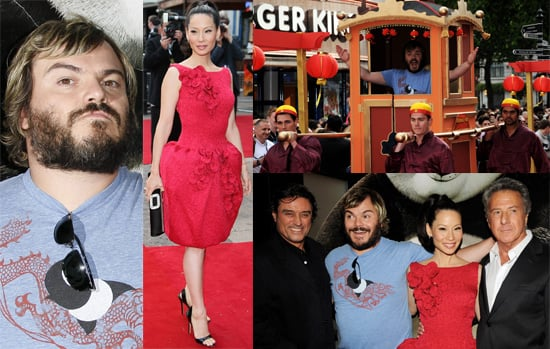 Photos Of Jack Black, Lucy Liu, Ian McShane and Dustin Hoffman (and guests) At The UK Kung Fu Panda Premiere