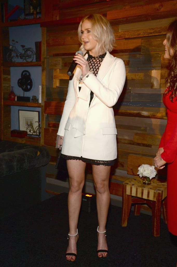 Jennifer Lawrence at Women In Film Pre-Oscar Party 2016