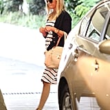 Reese Witherspoon headed out to her car.