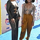 Chloe X Halle at the 2019 Teen Choice Awards