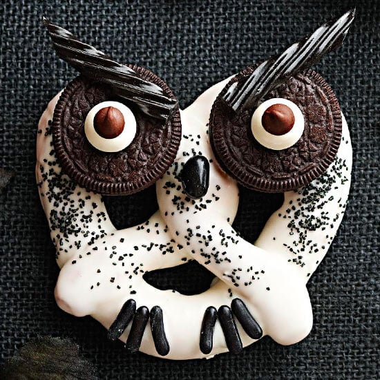 Haunted Owl Pretzels