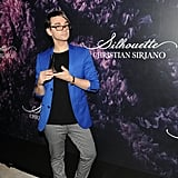 Christian Siriano Showing Off His Silhouette Fragrance