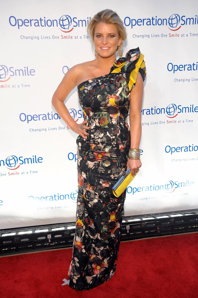 Pictures of Jessica Simpson at Operation Smile Gala in NYC