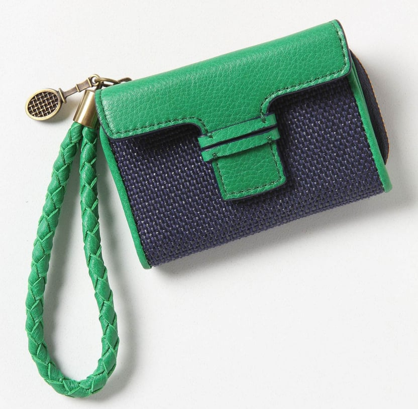 We love this pretty blue-green combo. Anthropologie To Go Wallet ($28)