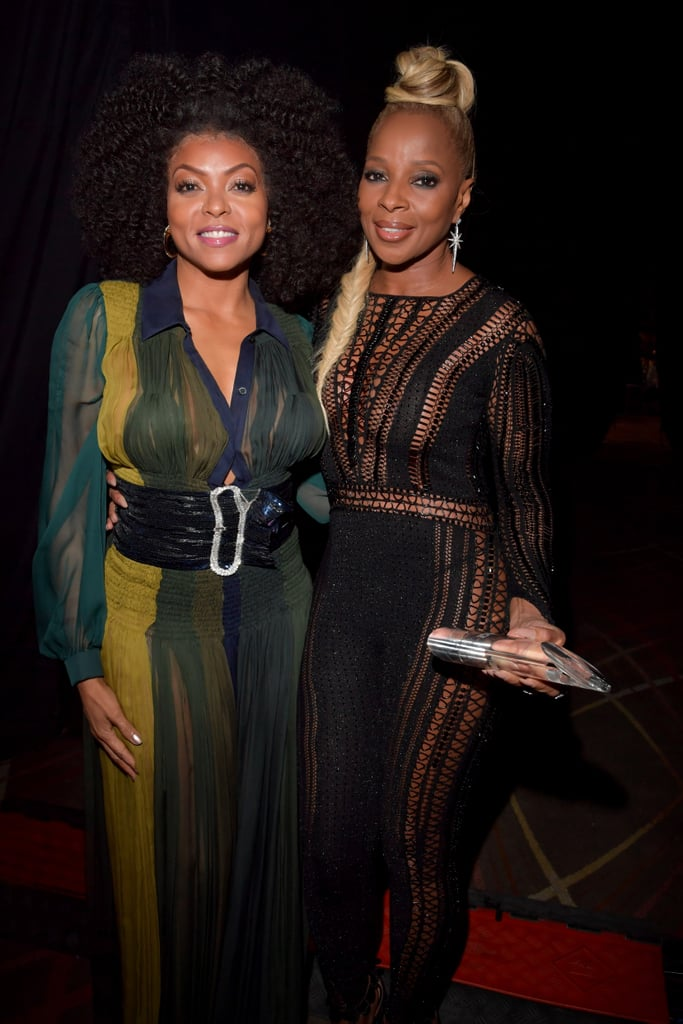 Pictured: Taraji P. Henson and Mary J. Blige