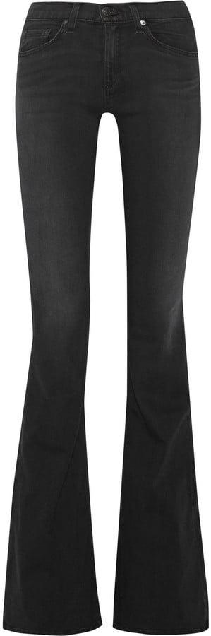 Rag & Bone Bell High-Rise Flared Jeans ($225)