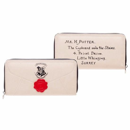 Hogwarts Letter Zip Wallet