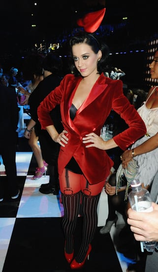 Katy Perry hosting and  performing at the MTV Europe Music Awards