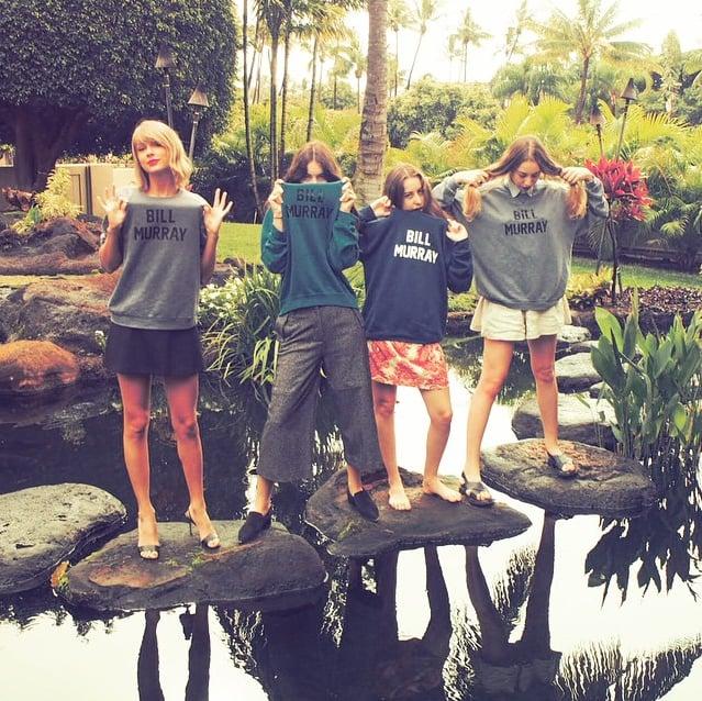 Taylor Swift and Haim's Reformation Sweatshirt