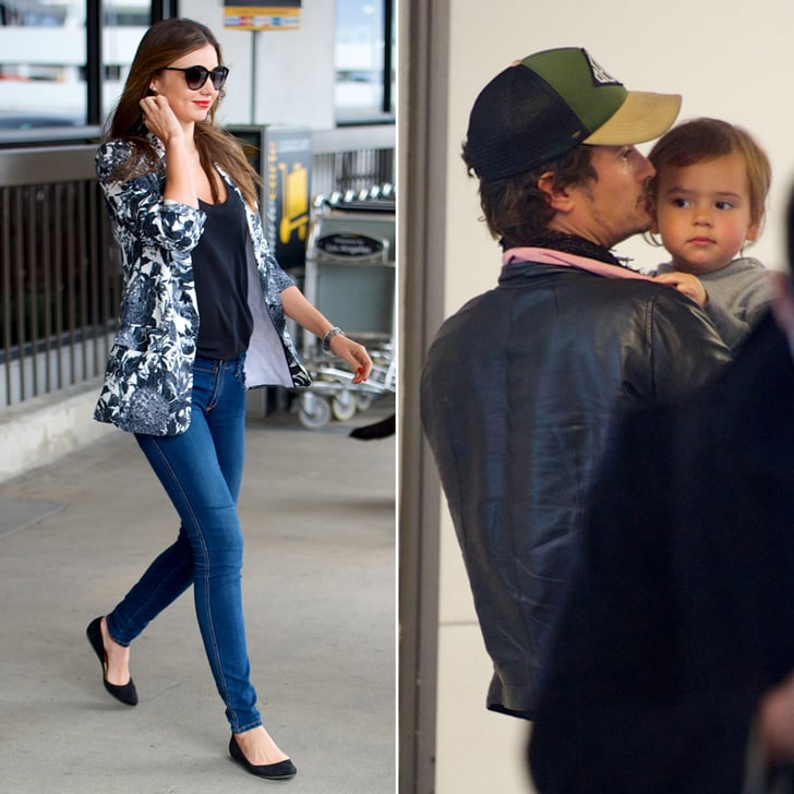 Miranda and Orlando Wrap Up a Relaxing Vacation With Flynn
