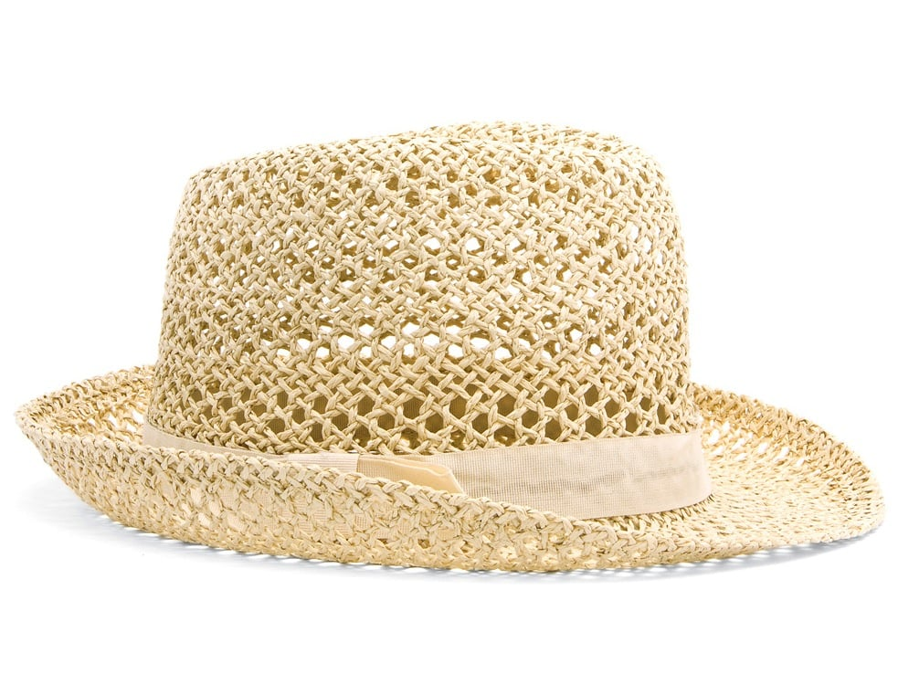 In line with our love of a monochromatic palette, we would be remiss not to have a superchic white hat in the mix. Mango Straw Hat ($40)