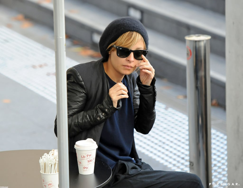 Nicole Richie sipped her morning coffee in Sydney.